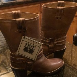 Frye Harness Boots (New)